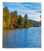 Myriad Colors Of Nature Fleece Blanket