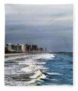 Myrtle Beach Fleece Blanket