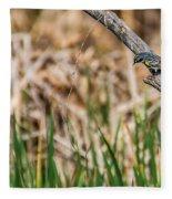 Myrtle Warbler Colors Fleece Blanket