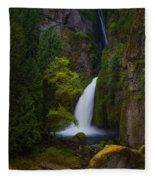 Mysteries Of Wahclella Fleece Blanket