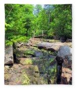 Mystery Bridge Fleece Blanket