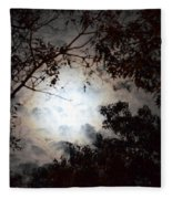 Mystery Of Moonlight Fleece Blanket