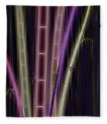 Mystic Bamboo Fleece Blanket