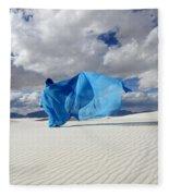 Mystic Blue 11 Fleece Blanket