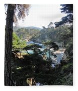 Mystic Bridge Fleece Blanket