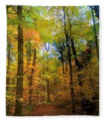 Mystic Fall Fleece Blanket