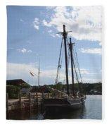 Mystic Harbor - Ct Fleece Blanket