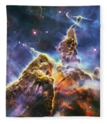 Mystic Mountain Fleece Blanket
