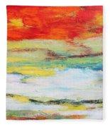 Mystic River-jp2476 Fleece Blanket