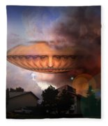 Mystic Ufo Fleece Blanket