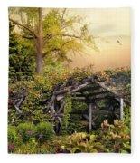 Mystical Arbor Fleece Blanket