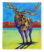Mythical Elk Fleece Blanket