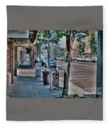 Nacogdoches Fleece Blanket