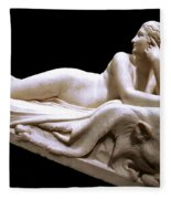 Canova's Naiad Fleece Blanket