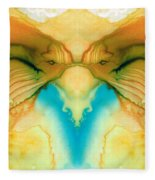 Namaste - Divine Art By Sharon Cummings Fleece Blanket