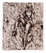 Nan Dungortheb Detail Fleece Blanket