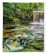 Nant Mill Waterfall Fleece Blanket
