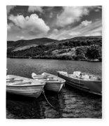 Nantlle Uchaf Boats Fleece Blanket