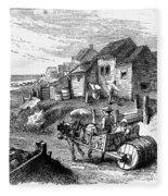 Nantucket, 19th Century Fleece Blanket