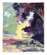 Napa Valley Forest Fall Fleece Blanket