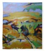 Napa Valley Perriwinkle Sky Fleece Blanket