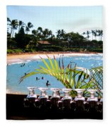 Napili Bay Maui Hawaii Fleece Blanket