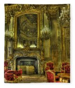 Napoleon IIi Room Fleece Blanket