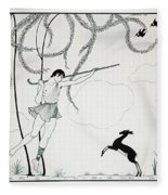 Narcisse Fleece Blanket