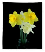 Narcissus Fleece Blanket