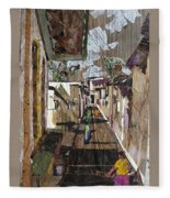 Narrow Street Fleece Blanket