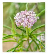 Narrowleaf Milkweed Fleece Blanket