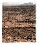 Nasa Mars Panorama From The Mars Rover Fleece Blanket