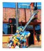 Nashville Legends Guitar Fleece Blanket