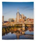 Nashville Morning Fleece Blanket
