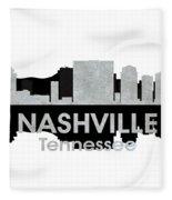 Nashville Tn 4 Fleece Blanket