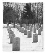National Cemetery   # Fleece Blanket