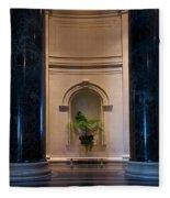 National Gallery Of Art Christmas Fleece Blanket