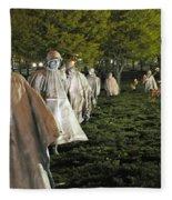 National Korean War Memorial  Fleece Blanket