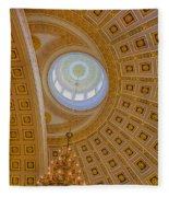 National Statuary Rotunda Fleece Blanket