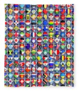 Nations United Fleece Blanket