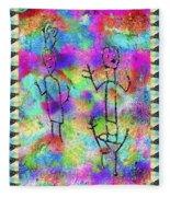 Native Legends II Fleece Blanket