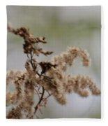 Natural Abstract 48 Fleece Blanket
