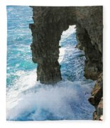 Natural Arch II Fleece Blanket