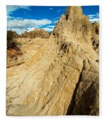 Natural Stone Pillar Fleece Blanket