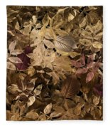 Naturaleaves - Gla02f Fleece Blanket
