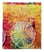 Nature Abstract 44 Fleece Blanket
