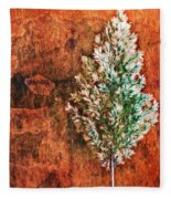 Nature Abstract 48 Fleece Blanket