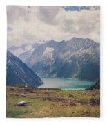 Nature Calls Fleece Blanket