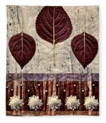 Nature Canvas - 01m4 Fleece Blanket