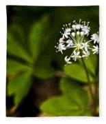 Nature Celebrates Spring With A Burst Of Botanical Fireworks Fleece Blanket